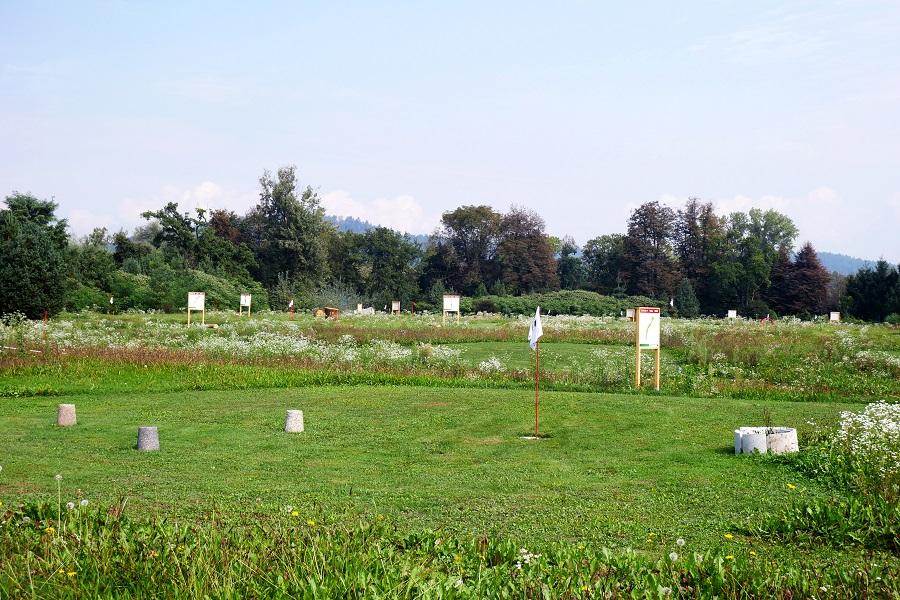Nogometni golf, Nogometni park Sneberje