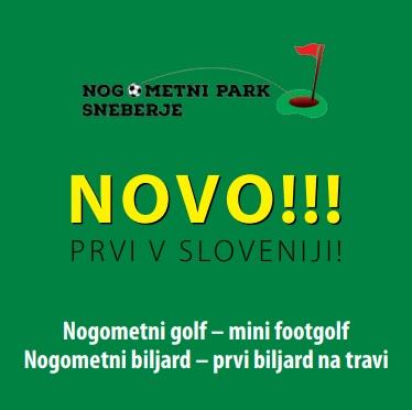 Zgibanka, nogometni golf, nogometni bilijard